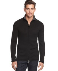 Dkny Contrast Zip Sweater