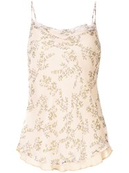 Rachel Gilbert Chiara Floral Cami Top Orange