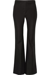 10 Crosby By Derek Lam Cotton Blend Wide Leg Pants Black