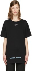 Off White Black Care T Shirt