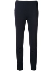 Les Copains Creased Trousers Blue