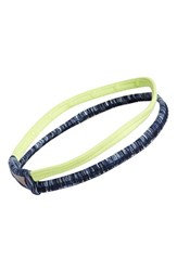 Zella 'Double The Fun' Headband Blue Navy Eclipse Cosmic Space Dye