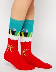 Silly Socks Christmas Stocking Socks Multi