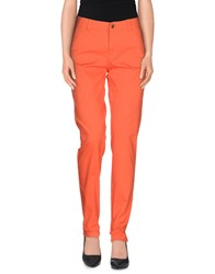 Only Trousers Casual Trousers Women Orange