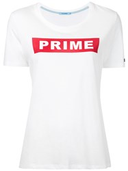 Guild Prime Slogan T Shirt Women Cotton Rayon 34 White