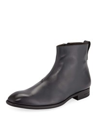 Ermenegildo Zegna New Flex Calf Boots Gray