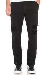 10.Deep Reinforced Carpenter Pant Black