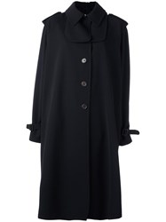 Jil Sander Oversized Coat Blue