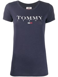 Tommy Jeans Essential Logo Slim Fit T Shirt 60