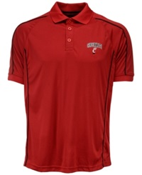 Colosseum Men's Cincinnati Bearcats Pitch Polo Red