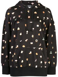 Undercover Household Object Print Hoodie Black