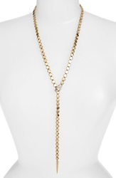 Melinda Maria 'Jane' Serpent Lariat Necklace Gold