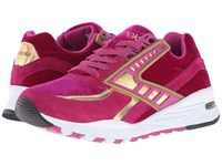 Brooks Heritage Regent Festival Fuschia Gold Chrome Women's Running Shoes Pink