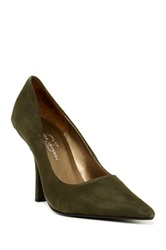 Chinese Laundry Spicy Suede Pump Green