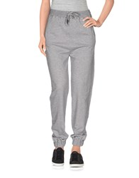 Scee By Twin Set Trousers Casual Trousers Women Grey