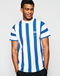 Rascals T Shirt With Stripes White