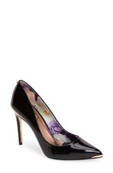 Ted Baker Women's London Kaawa Pump Black Patent