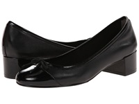 Cole Haan Sarina Pump Black Black Patent Women's Slip On Dress Shoes