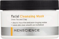 Menscience Facial Cleansing Mask 3 Oz Colorless