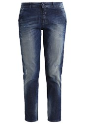 Sisley Slim Fit Jeans Denim Blue Blue Denim