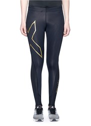 2Xu 'Elite Mcs Compression' Performance Tights Black