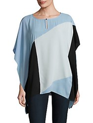 Vince Camuto Colorblock Caftan Sleeve Top Tonic Water