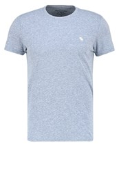 Abercrombie And Fitch Muscle Fit Basic Tshirt Navy Dark Blue