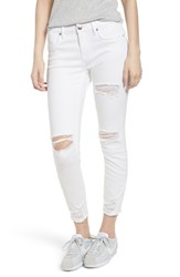 Vigoss Ripped Skinny Jeans White