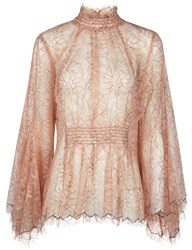 Alice Mccall Antique Rose Love Myself Blouse Beige