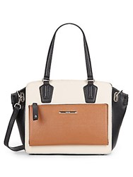 Nine West Zip N Go Color Blocked Tote Bag Multi