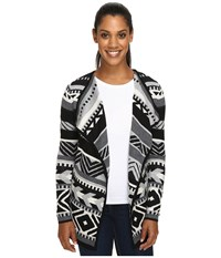 Smartwool Camp House Wrap Black Women's Long Sleeve Pullover