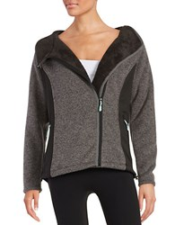 New Balance Textured Fleece Lined Hoodie