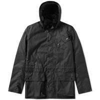 Barbour International Onyx Wax Jacket Black