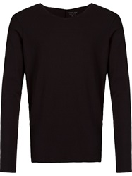 Osklen Long Sleeve T Shirt Black