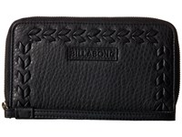 Billabong Moonlit Exit Wallet Off Black Wallet Handbags