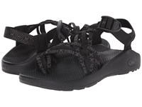 Chaco Zx 3 Classic Xoxo Black Women's Sandals