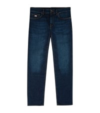 Boss Maine Regular Fit Jeans Male Blue