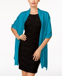 Inc International Concepts Satin Wrap Only At Macy's Teal