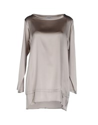 Rosso35 Blouses Dove Grey