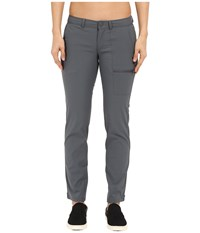 Mountain Hardwear Metropass Pants Graphite Women's Casual Pants Gray