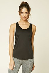 Forever 21 Active Mesh Back Tank