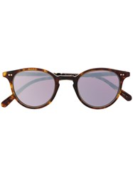 Garrett Leight Mirrored Lense Sunglasses 60