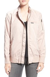 Members Only Women's 'Ex Boyfriend' Bomber Jacket Brush
