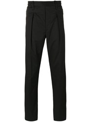 Christophe Lemaire Straight Pants Black