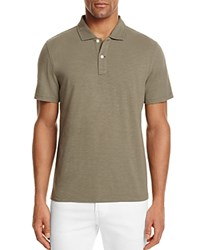 Bloomingdale's The Men's Store At Slub Jersey Enzyme Wash Classic Fit Polo Dusty Olive