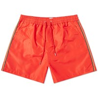 Paul Smith Classic Side Stripe Swimshort Red