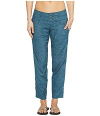 Prana Lizbeth Capris Mood Indigo Women's Casual Pants Navy