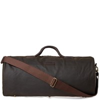 Barbour Wax Holdall Green