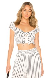 Likely Faye Top White