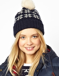 Jack Wills Hat With Bobble